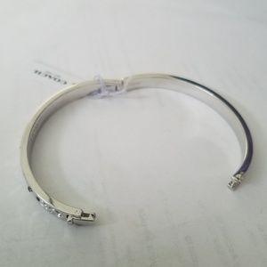 Coach Jewelry - Coach F59803 Kissing C Hinged Bangle Bracelet